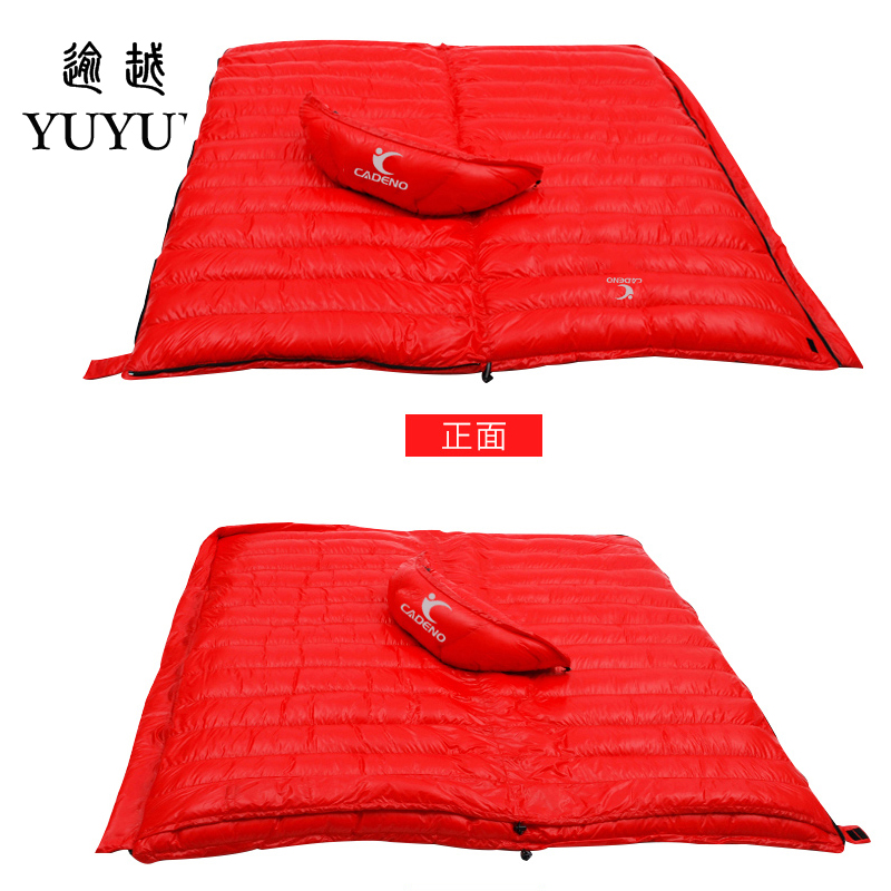 Outdoor Adult light sleeping bag ultralight winter for camping tent waterproof nylon survival sleeping bag camping 5