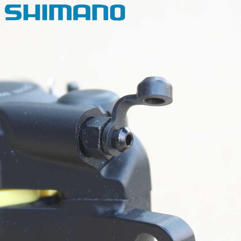 Shimano slx xt peças de reparo do freio a disco traseiro m785 m8000 m985 m9000 r8070 r9170 rs805 rs505 rs405 bico de sangramento tampa