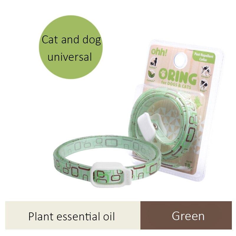 Gato perro repeler Eliminar las pulgas garrapatas mosquitos mascotas Collar para Control de plagas accesorios gatito perros cables Chihuahua Pet Supplies