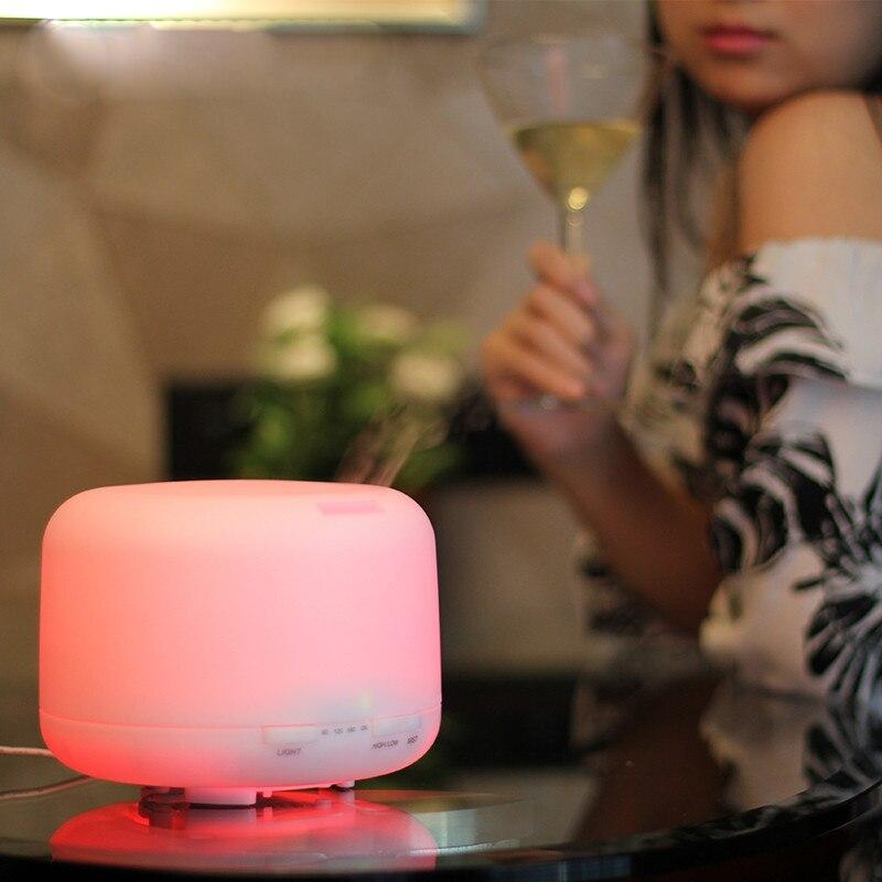 GRTCO 500ml 15 Colors Changable LED Light Essential Oil Aroma - Կենցաղային տեխնիկա - Լուսանկար 5