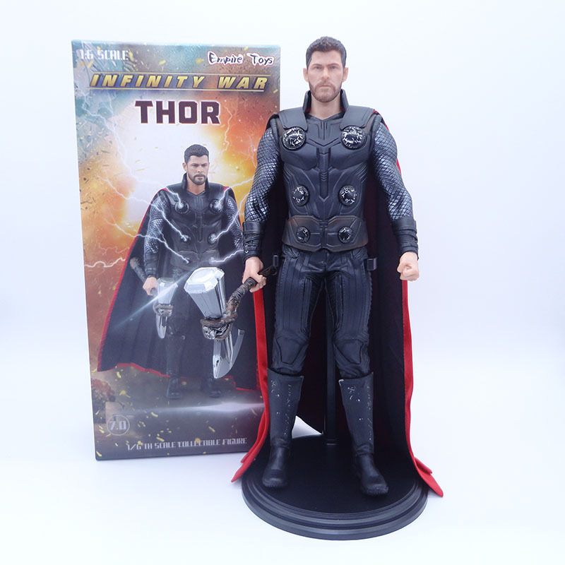 Empire Toys Infinity War Thor 1/6 Scale Collectible Figure PVC Avengers Thor Figure Action Model Toy Gift 30cm