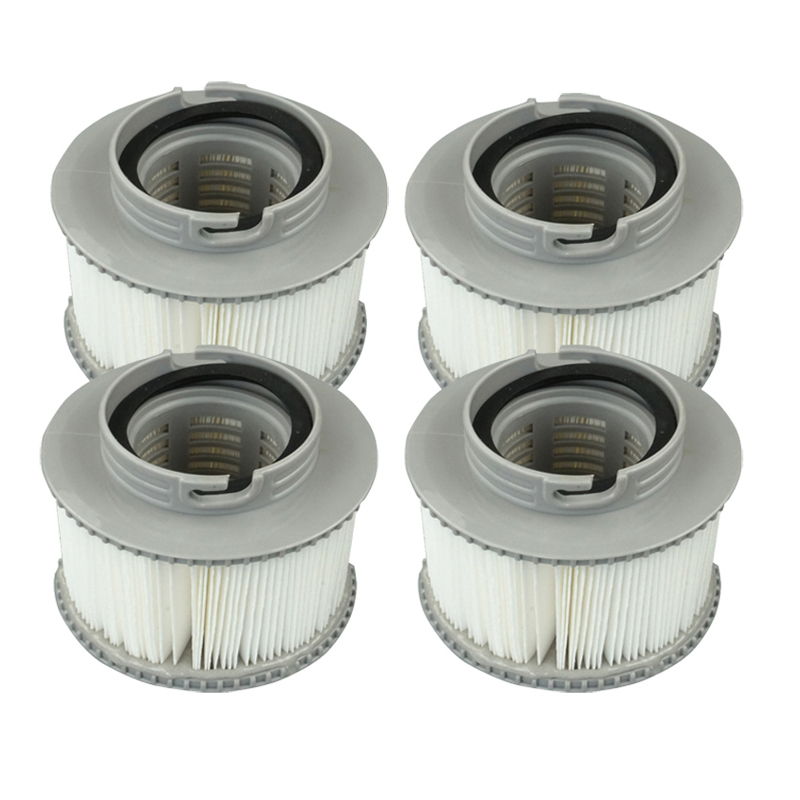 CHEAPEST GENUINE MSPA Hot Tub Filter Cartridges Pack 4 Filters in total