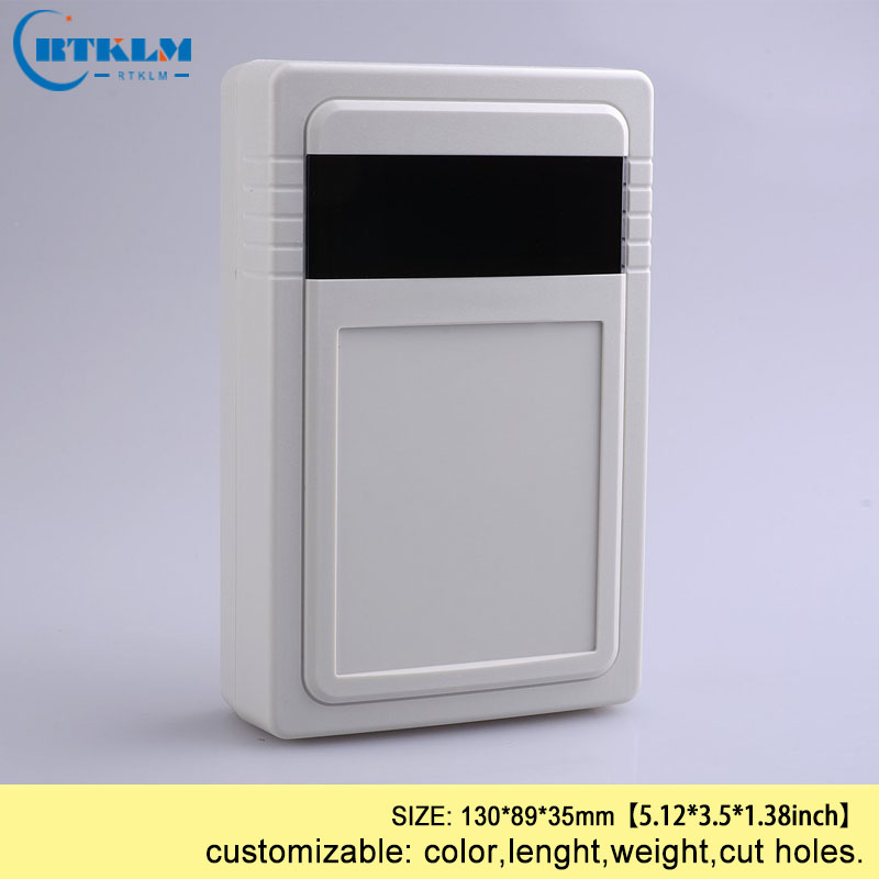 Wall mounting electric box IP54 abs plastic distribution box plastic junction box diy instrument cases 130*89*35mm 5pcs|Wire Junction Boxes| |  - title=