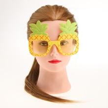 Cosplay Summer Styles Oversize Pineapple Shape Women Oval Sunglasses Men Pearl Effective Glasses Cute Gift