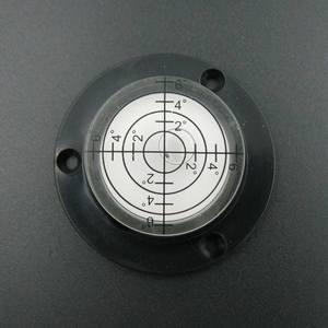 Image 2 - HACCURY 50*17 мм круглый спиртовой уровень, инструмент для уровня воды круглый спиртовой уровень пузырьковый флакон пять стилей