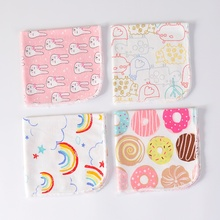 baby bibs cotton Baby Swaddle Blankets 25*25cm Baby Cotton Bath Towel