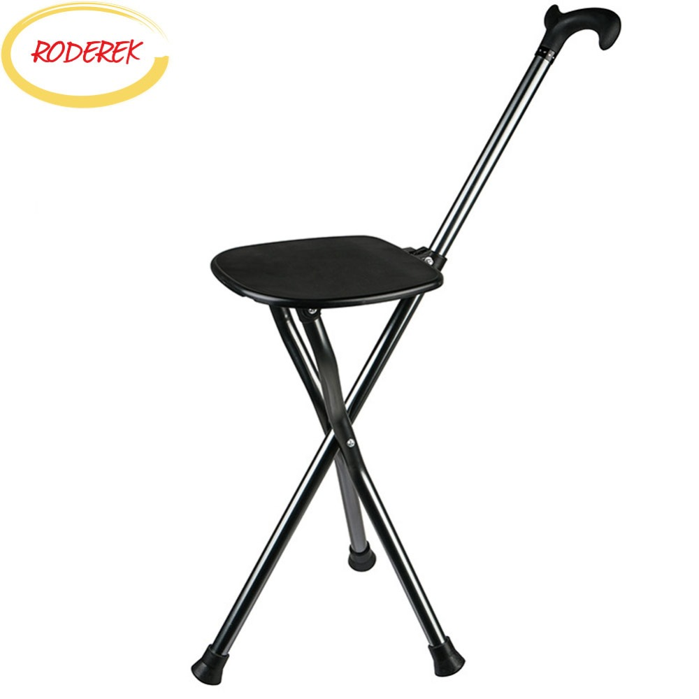 Elder Walking Stick Chair Metal Elder Walk Aiding Tools with Chair Light Walking Crunch Portable ChainElder Walking Stick Chair Metal Elder Walk Aiding Tools with Chair Light Walking Crunch Portable Chain