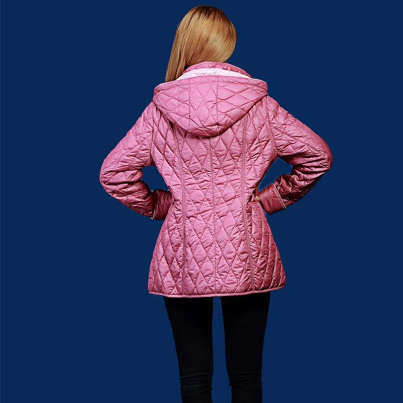 jesen i zima parka žene kratki dizajn Dugi rukav Hoodie prekrasan - Ženska odjeća - Foto 5