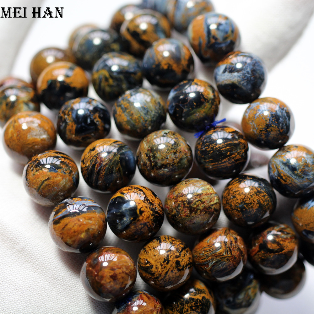 Wholesale 16 beads set 50g A natural 13 13 5mm Namibia Pietersite bracelet beads natural stone
