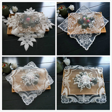 New Exquisite European-style Coaster Insulation Fabric Placemat Embroidered Tea Set Fruit Plate Vase Pad Dining Coffee Table Mat