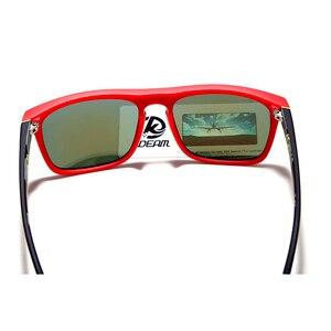 أزياء الرجل نظارات شمسية من Kdeam الاستقطاب النظارات الشمسية الرجال الكلاسيكية تصميم جميع-صالح مرآة مكبرة مع العلامة التجارية مربع CE