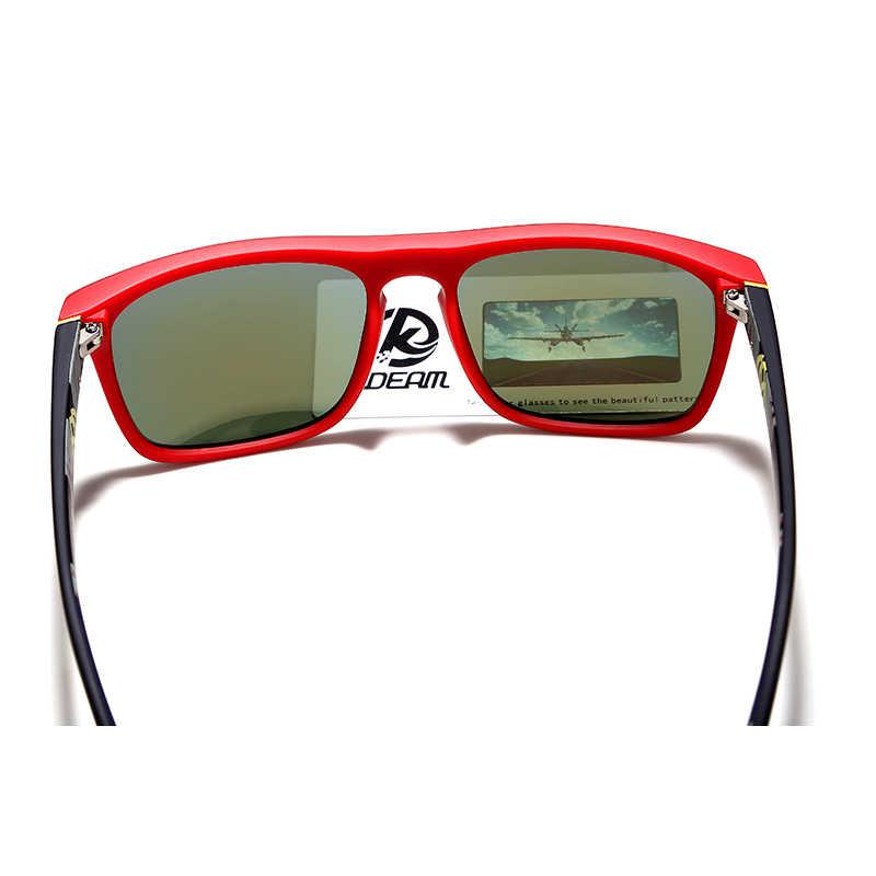 KDEAM からファッション男のサングラス偏光サングラス男性クラシックデザインすべてフィットミラーサングラスブランドボックス CE