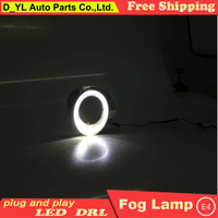 Car styling For Ford Focus LED DRL For Focus High brightness guide LED DRL led fog lamps daytime running lights F style