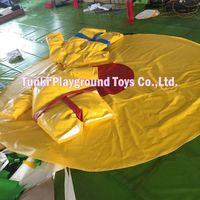kids inflatable sumo wrestling suits/inflatable sports games/ sumo suits sumo wrestling