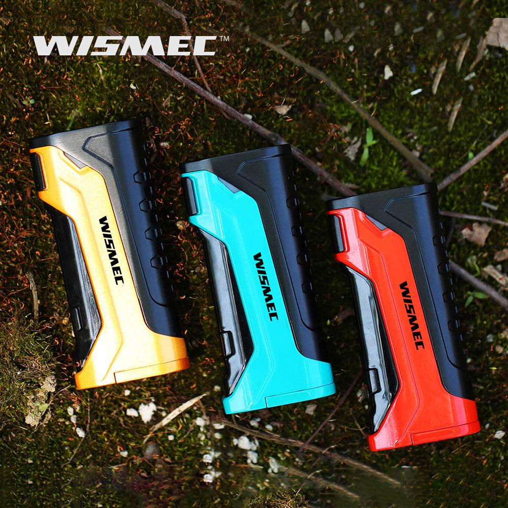 Wismec Original CB-80 boîte Mod 80 w sortie trois boutons conception et 0.91 pouces affichage e-cig Vape mod pour Amor NS Pro atomiseur e-cig