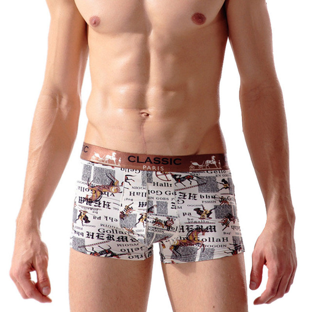 c196010d6 3Pcs lot Mens Boxers Underwear Homme Comfortable Underpants Men s Panties  Silk Shorts Breathable Boxer Male Sexy Boxers shorts