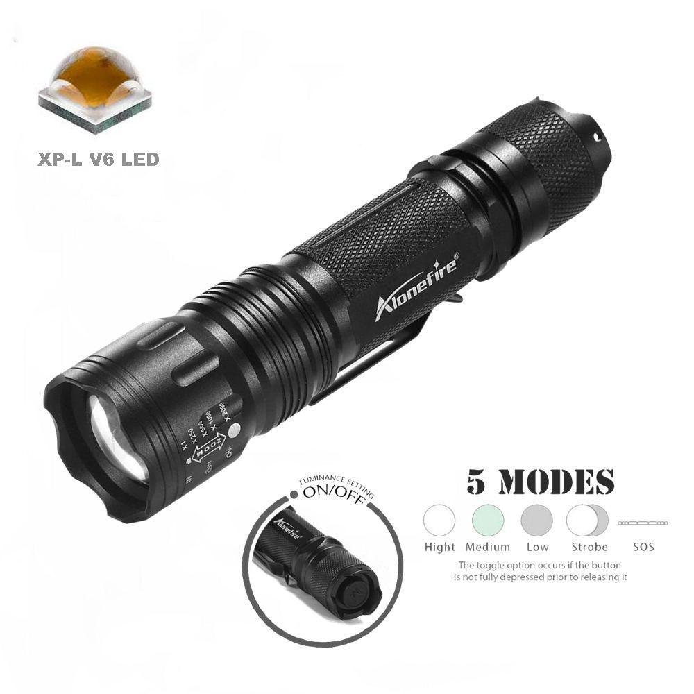 TK105 V6 LED flashlight (23)