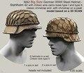12 Pçs/lote 1/35 escala Kit de miniaturas de Resina Modelo SEGUNDA GUERRA MUNDIAL WW2 Alemão capacete soldados figura Frete Grátis