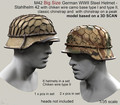 12 PCS / lot 1/35 scale WW2 German soldiers helmet WWII miniatures Resin Model Kit figure Free Shipping