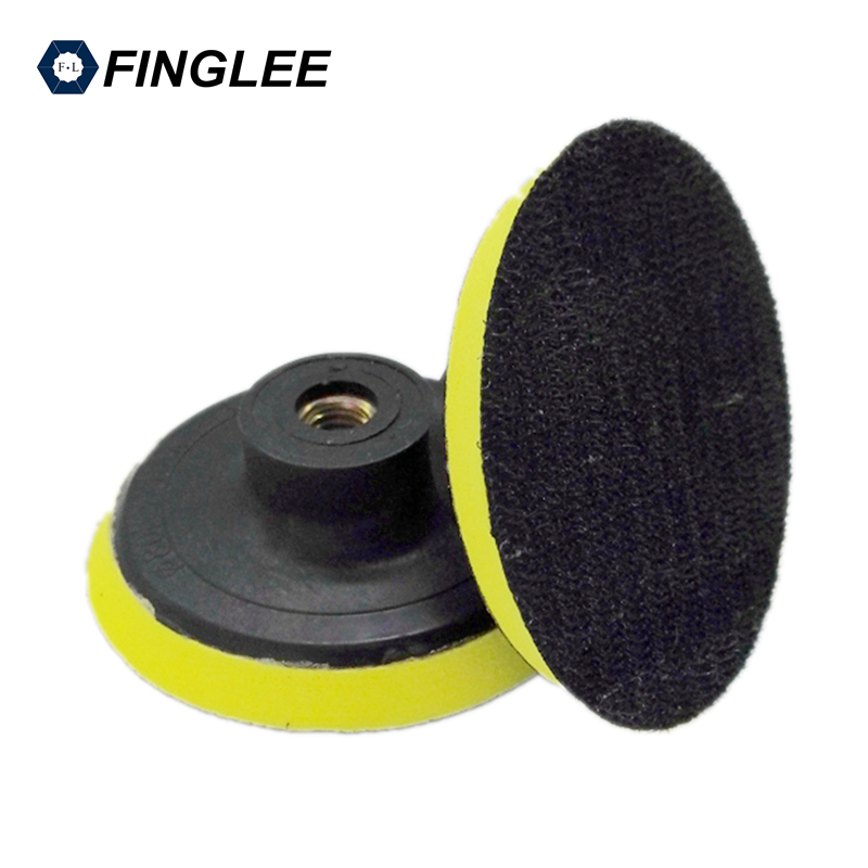 2pcs 3inches/4inches Plastic Backer Angle Grinder Disc Joint Plastic Connector Joint Diamond Polishing Pads Car Wax biaobang car polishing wax w sponge pad 200g