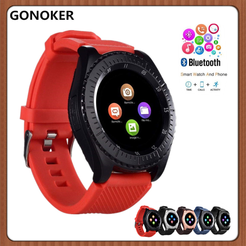 Bluetooth SmartWatch Built in Camera Sports SmartWatch IPS HD LCD Screen Support SIM and TF Card Camera for Android and iOS