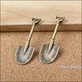 Wholesale 16 pcs quality Antique bronze shovel Pendant Alloy DIY Fashion charm Bracelet Necklace Jewelry Accessories 10094