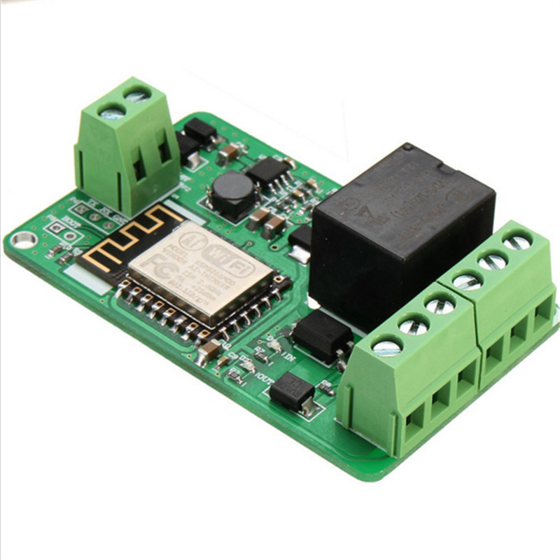 ESP8266 Relay Module 10A 220V Network Relay WIFI Module Input DC 7V~30V