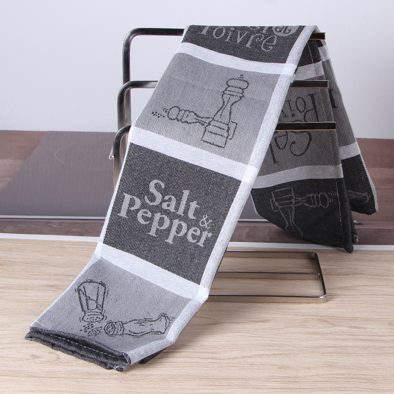 Home & Garden Cotton Yarn Dyed Dish Towel With Hand-made Tassel Napkin Tea Towel Dishtowel Kitchen Towel Cleaning Cloth Price Remains Stable