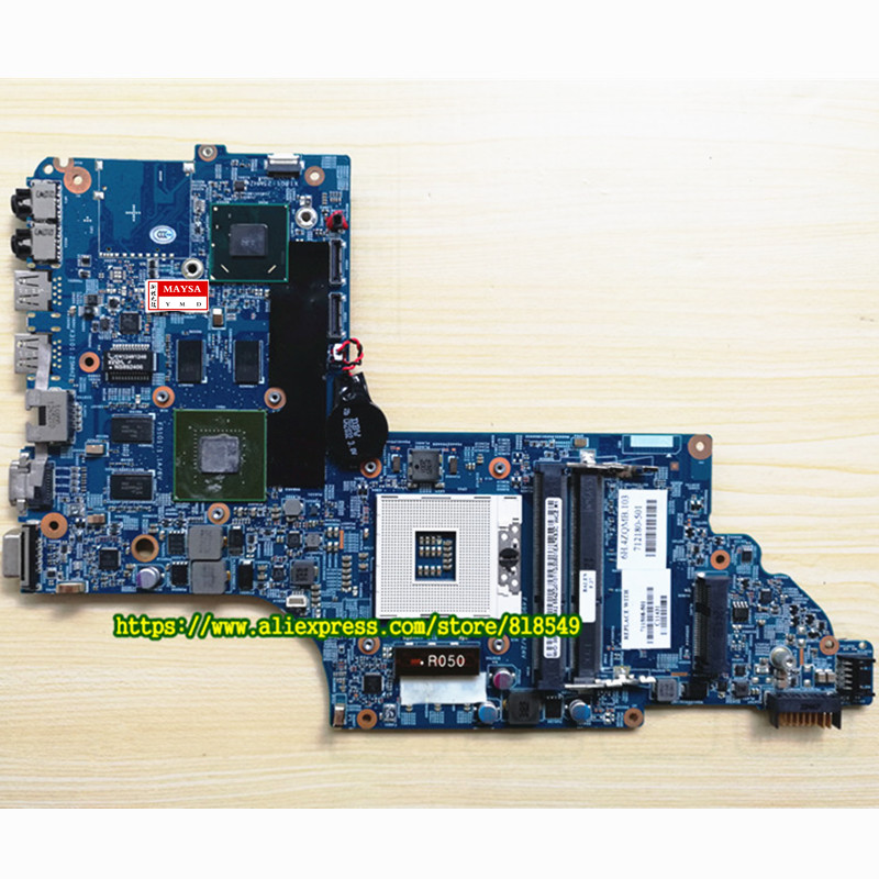 682016-001 48.4ST10.031 GT630M Motherboard fit for HP DV7 DV7-7000,100% Tested and guaranteed in good working condition!! 605322 001 for hp dv7 4000 intel laptop motherboard for hp dv7 605322 001 100% tested and guaranteed in good working condition