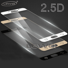 LEWEI 9H Full Coverage Tempered Glass For Samsung Galaxy A8 2018 A3 A5 A7 S7 2016 2017 LCD Screen Protector C5 C7 C9 Pro Glass