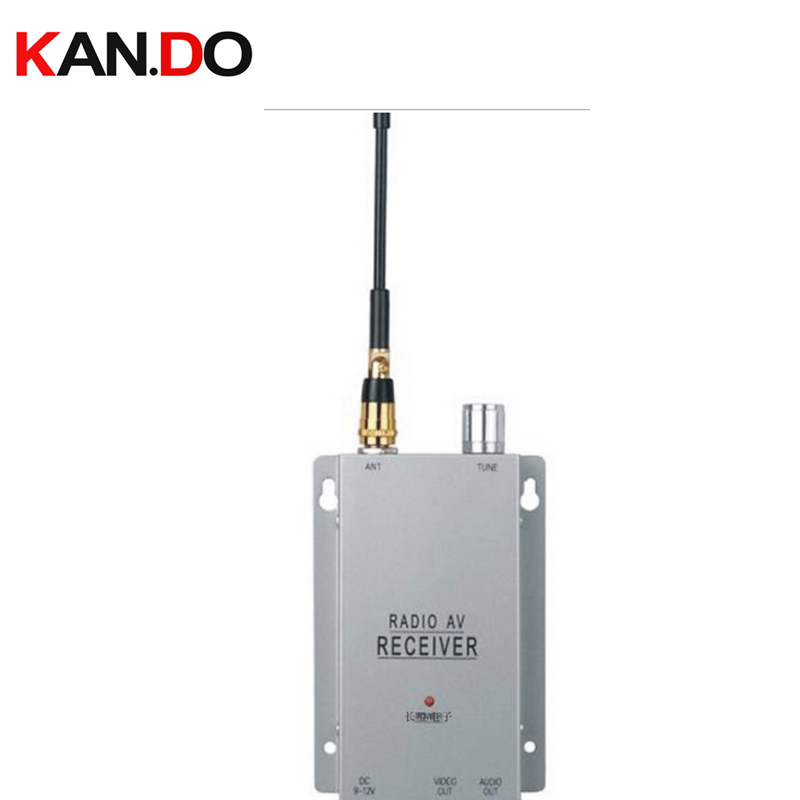 v1.2G Wireless video&audio receiver wireless camera AV receiver 1200mhz audio video receiver for drone for FPV receiver 900-1200 image