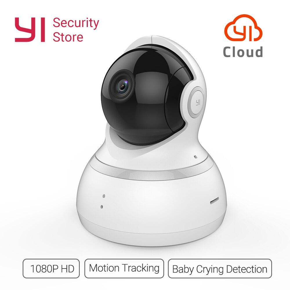 YI Caméra Dôme 1080 p Sans Fil IP de Sécurité Nuit Surveillance Vision International Version Bébé Moniteur CCTV Wifi Nuage Disponibles