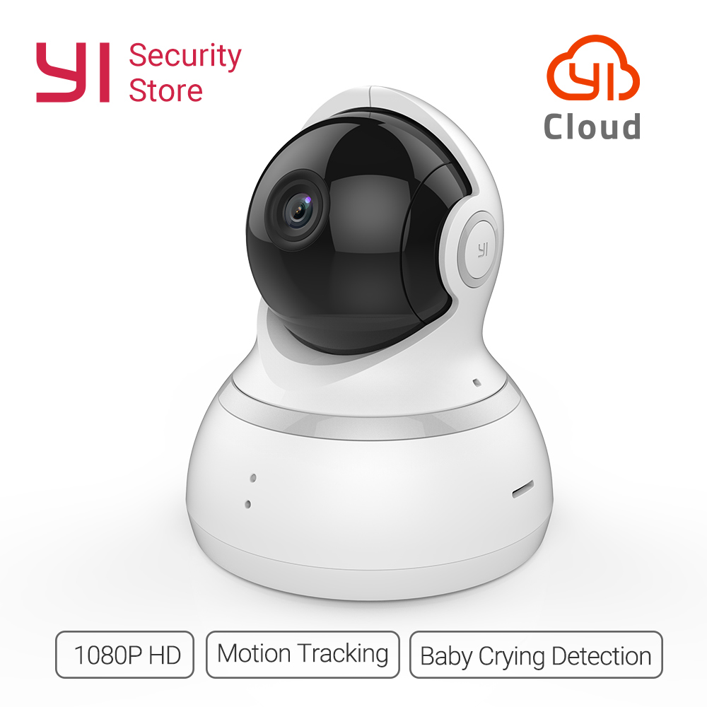все цены на YI Dome Camera 1080P Wireless IP Security Surveillance Night Vision International Version Baby Monitor CCTV Wifi Cloud Available