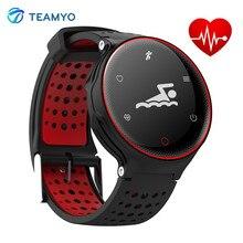 Teamyo X02 Smart Band Pulse сердечного ритма Приборы для измерения артериального давления часы браслет Фитнес трекер Шагомер Смарт Браслет IP68 Водонепроницаемый