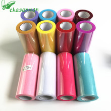 15cm(22m/roll) Tulle Roll Baby Shower DIY Crystal Organza Sheer Fabric Wedding Decoration Bachelorette Party Decoration.Q