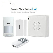 Broadlink S2 Equipment Safety Alarm Detector Movement Door Sensor Distant Management for House Automation system Safety Alarm System