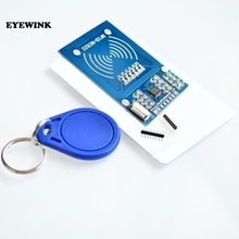 50pcs RFID 모듈 RC522 키트 S50 13.56 Mhz 6cm 태그 SPI 쓰기 및 읽기 uno 2560