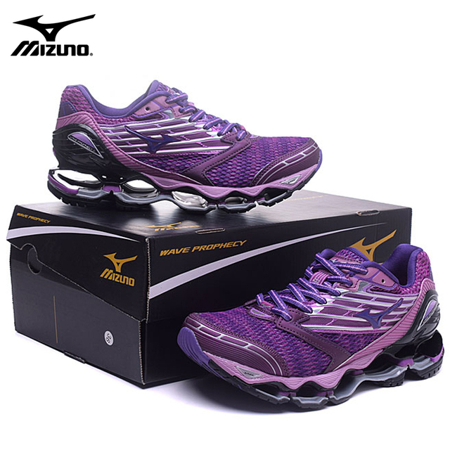 a645c393f32591 Mizuno Wave Prophecy 5 Professional sports Women Shoes New color Running  Shoes Stable Sports Weight lifting Shoes Size 36-41