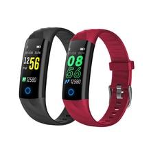 S5 Smart Wristband IP68 Waterproof Bluetooth Sport Bracelet Blood Pressure Pedometer Calorie Watch Fitness Tracker Color Screen