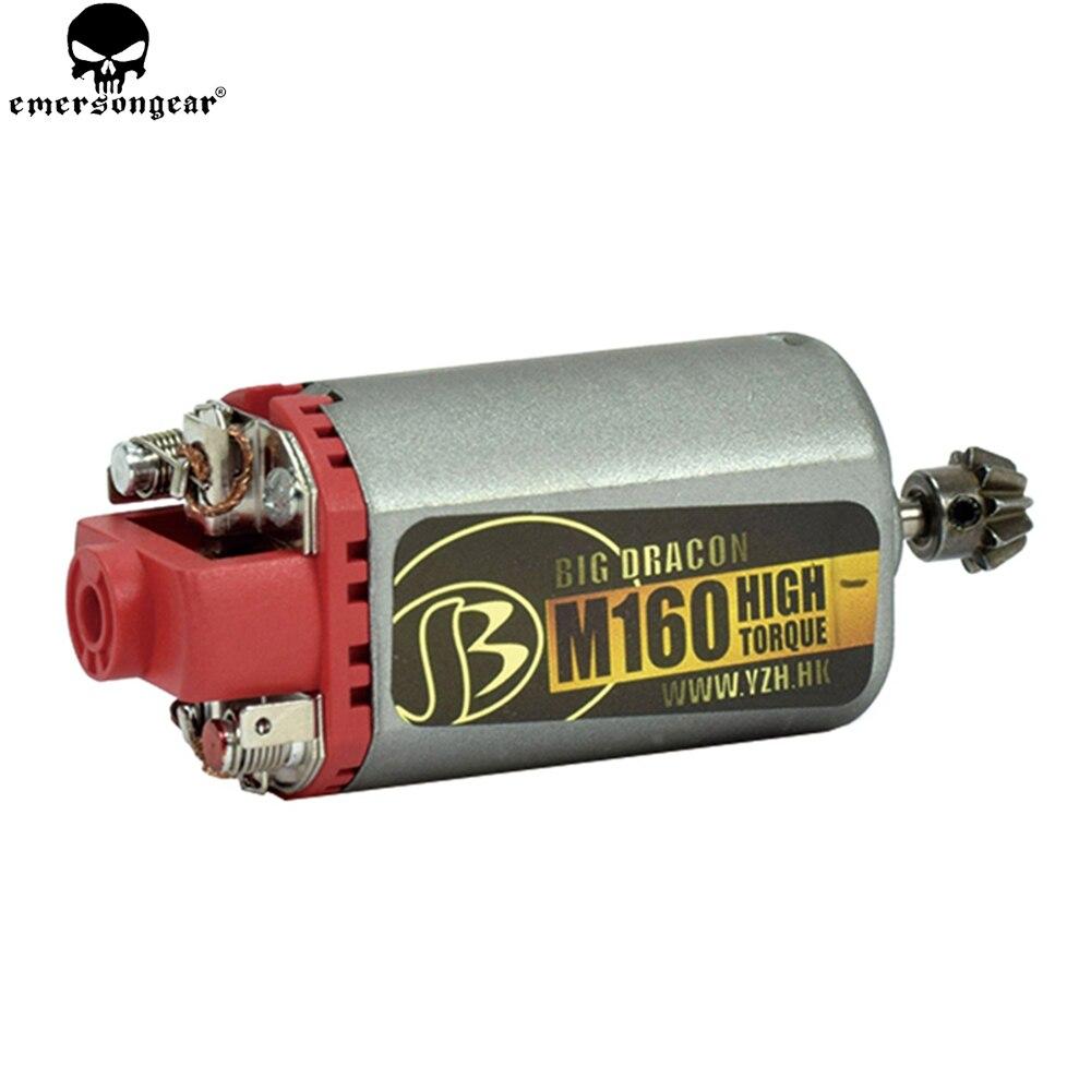 EMERSONGEAR permterminator ультра пользовательские M160 высокой поворот высокое Скорость высокий крутящий момент AEG двигателя короткие оси для Airsoft АК ...