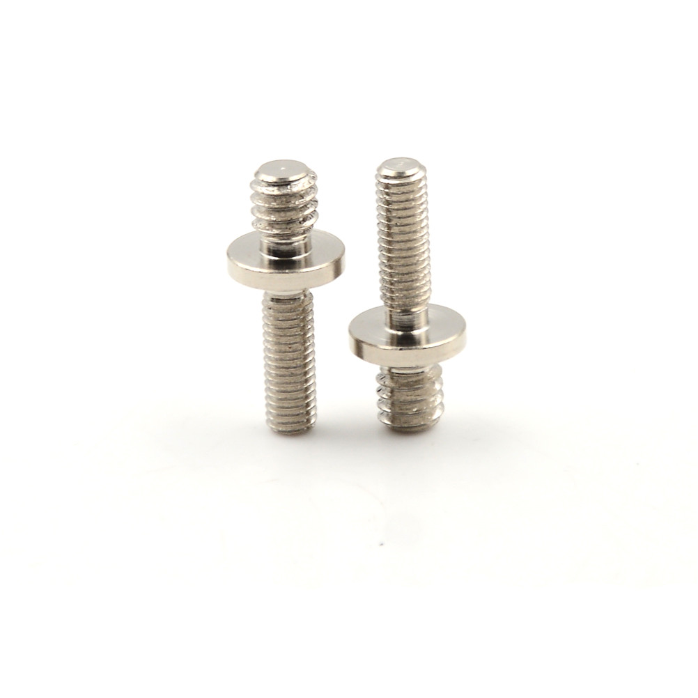 "Image 5 - 2pcs/lot 1/4"" Male Threaded to M5 Male Threaded screw Adapters for tripod camera-in Photo Studio Accessories from Consumer Electronics"