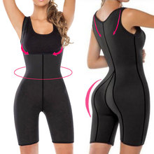 Neoprene Bodysuit Body Shaper For Women Push Up Bodysuits Full Body Slim Shapewear Posture Corrector Tummy Control Thigh Shapers