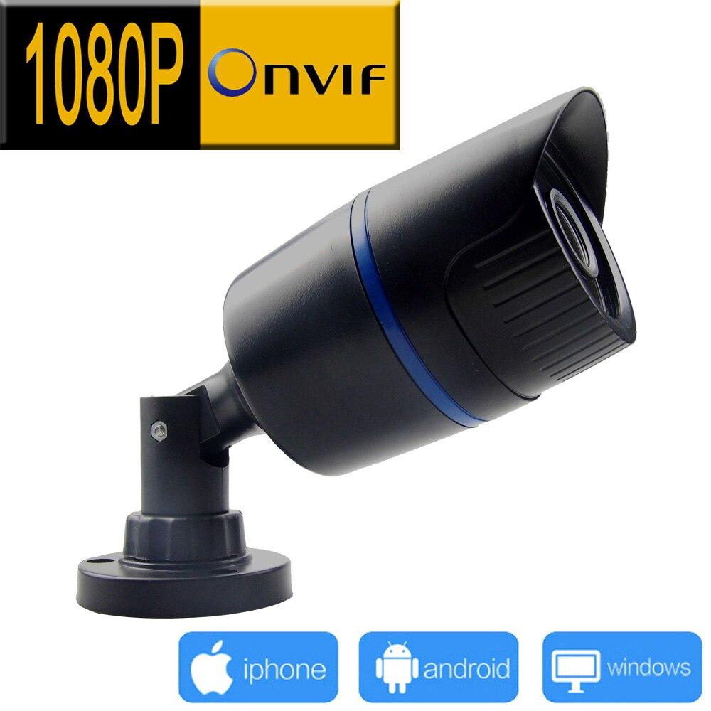 1920*1080 caméra ip extérieure 1080 P cctv système de surveillance de sécurité webcam étanche vidéo caméra infrarouge maison camara p2p JIENU