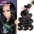 8a grau brasileira onda do corpo do cabelo virgem 3 feixes queen Produtos para o cabelo Brasileiro da Onda Do Corpo Do Cabelo Humano Weave 1B Cheveux Bresilien