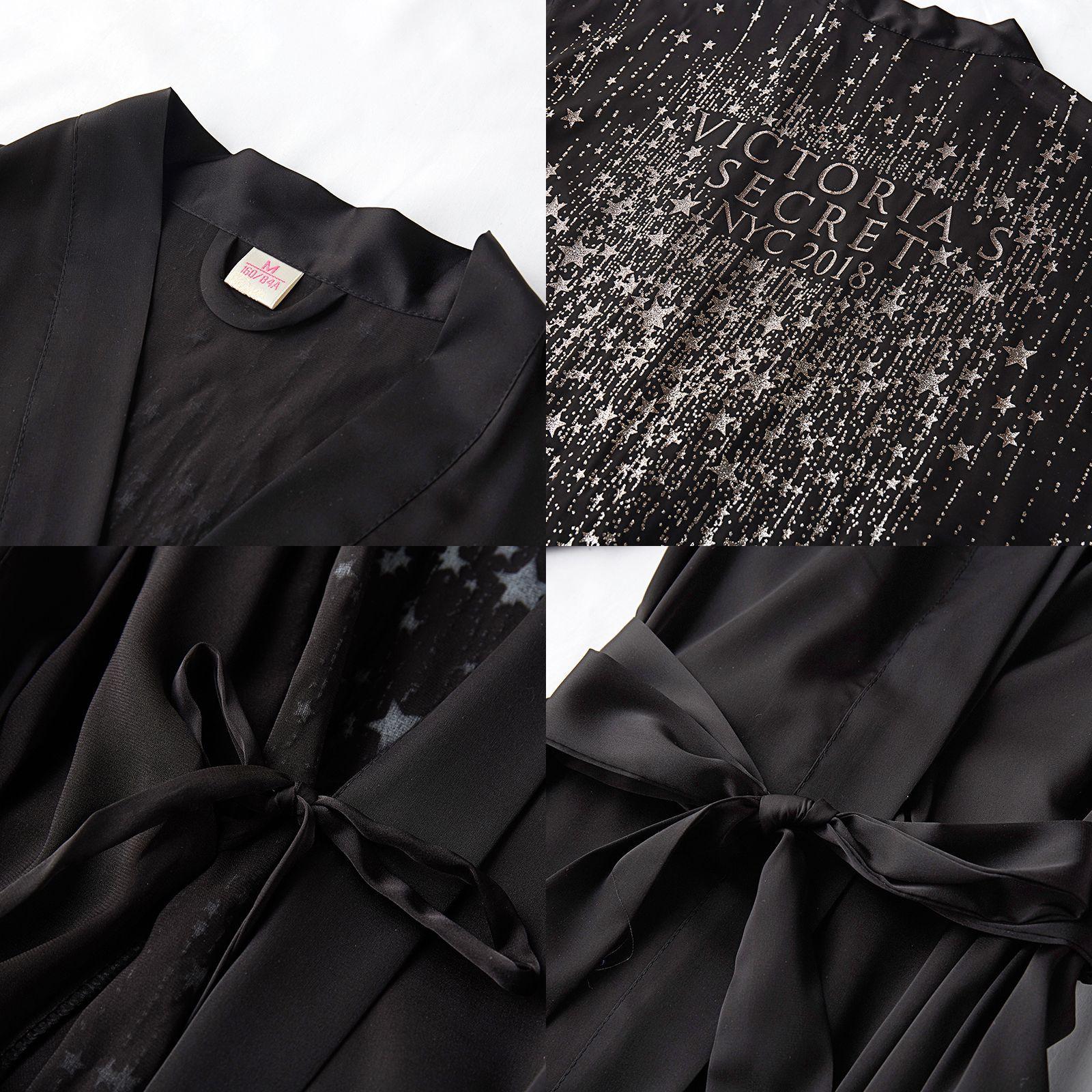 Image 3 - Summer Silky Satin gilded Nightgown Sexy Bride Bridesmaid Wedding Robe Women Kimono Bathrobe Lounge Dressing Gown NightdressRobes   -