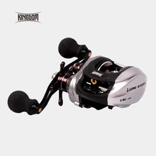 Raya Fishing Reels Casting Umpan 6.3: 1 205 g 9 + 1 BB High Speed ​​Kanan Dan Kiri Handle Fishing Reel Saltwater Model Lsc-100