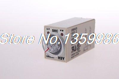 цена на 10pcs time timer relay 8pin H3Y-2 H3Y AC220V 5A 0.5-10Seconds 10S