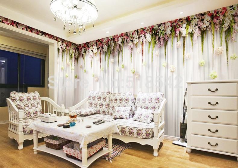 Niestandardowe zdjęcia tapety stereoskopowe 3d europejskiej duszpasterska włókniny mural sypialnia salon tło wystrój domu tapety 7