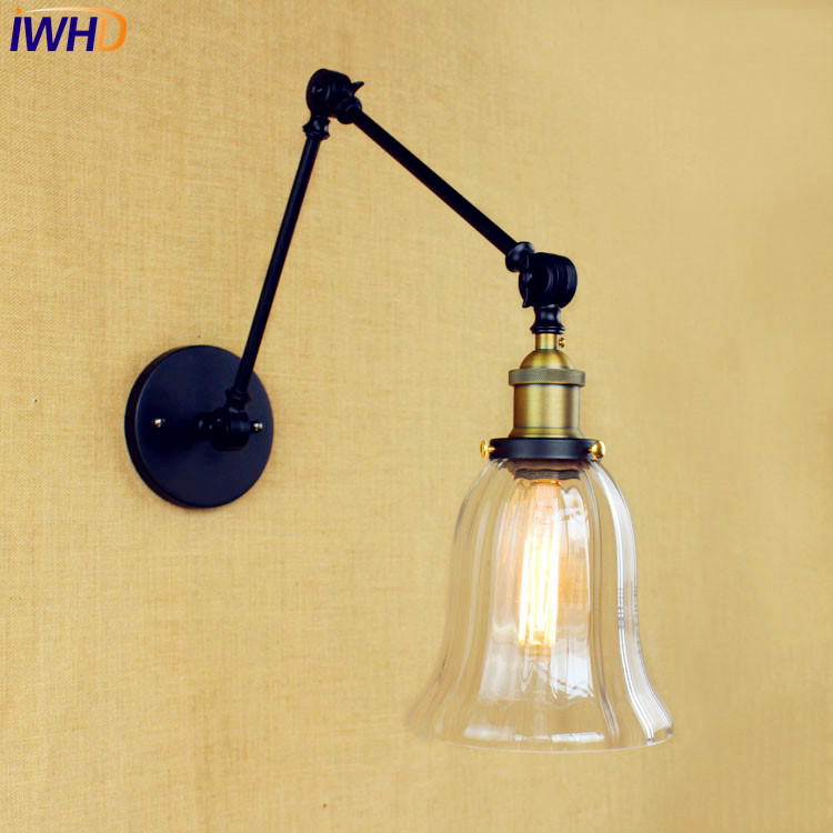 Antique Loft Retro Industrial Wall Lamp Wandlampen Edison Swing Long Arm Wall Light Vintage Sconces Appliques Pared Murale винкс winx winx club кукла winx club wow дримикс техна