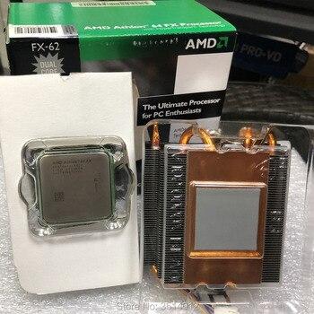 AMD Athlon 64 FX-62 FX62 FX 62 2,8 GHz Dual-Core CPU procesador nuevo ADAFX62IAA6CS hembra AM2